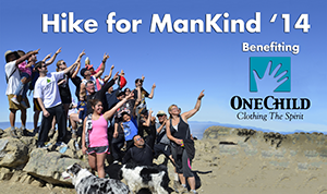 Hike for ManKind Graphic